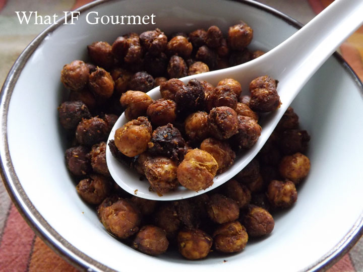 ... Snacking: Roasted Moroccan-Spiced Chickpeas | What IF…? Gourmet