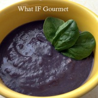 Anti-Inflammatory Purple Velvet Soup (GF, DF, V)