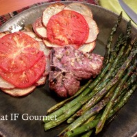 Simple Garlic Rosemary Lamb Chops Fit for Easter Dinner (GF/DF)