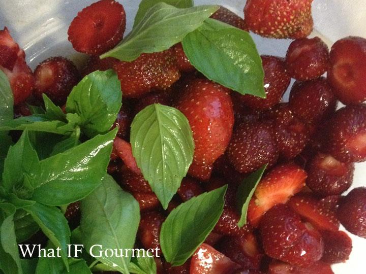 Simple Strawberry Basil Sorbet (No Ice Cream Maker ...