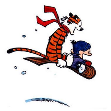 Bill Watterston, Calvin & Hobbes.